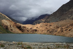 Himalayan mountain lake Stock Images