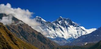 Himalayan mountain landscape Stock Photo