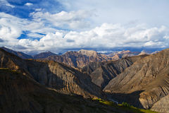 Himalayan mountain landscape in Dolpo, Nepal Stock Photos