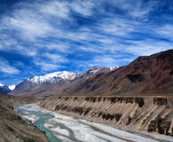 Himalayan mountain landscape in Ladakh, India Royalty Free Stock Photos