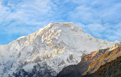 Himalayan mountain in Nepal Royalty Free Stock Photography
