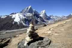 Himalayan mountain, Nepal Royalty Free Stock Photos