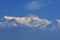 Himalayan mountain,pokhara,Nepal stock photo