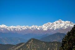 Himalayan Mountain range -Kedarnath Stock Photos
