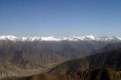 The Himalayan mountain range Stock Photo