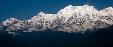 Himalayan Mountain range Royalty Free Stock Photography