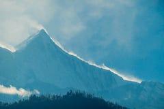 Nepal - Mountain range Annapurna Circuit Trek, Himalayas stock photography