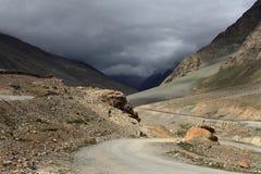 Himalayan mountain road Royalty Free Stock Images