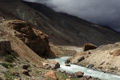 Himalayan mountain stream Stock Photos