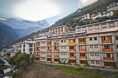 Himalayan mountain village Royalty Free Stock Photo