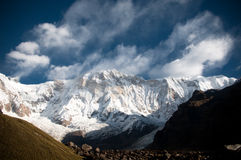 Himalayan Mountains stock image