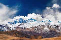 Himalayan mountains Royalty Free Stock Photography
