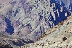 Himalayan mountains background Royalty Free Stock Image