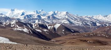 Free Himalayan Mountains In Ngari Prefecture, Tibet, China Royalty Free Stock Image - 105698116