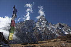 Himalayan mountains stock photography