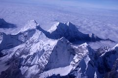 Himalayan Mountains Stock Photo