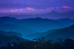 Himalayan nightscape Royalty Free Stock Photo