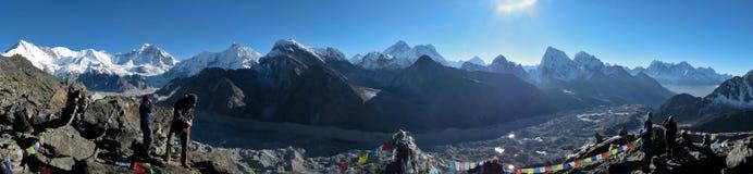 Himalayan Panorama Stock Photo
