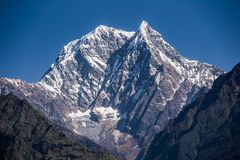 Himalayan peak Stock Photos