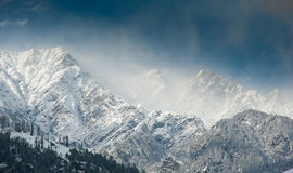 Himalayan peaks Royalty Free Stock Images