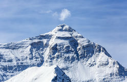 The Himalayan peaks. The Himalayas main peak elevation of 8844.43 meters, is located in the territory of China, is the world first peak. Tibet, China Stock Photo