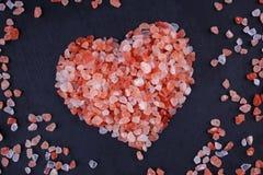 Himalayan Pink Salt Royalty Free Stock Images