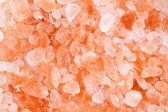 Himalayan pink salt Royalty Free Stock Images