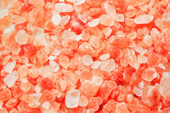 Himalayan pink salt background Stock Images