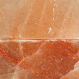 Himalayan pink salt block surface. Top view Stock Photo