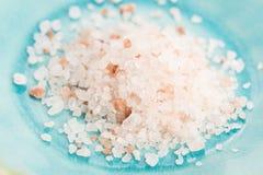 Himalayan pink salt Stock Image
