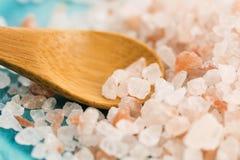 Himalayan pink salt Stock Photo