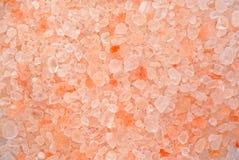 Himalayan pink salt Royalty Free Stock Photo