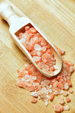 Himalayan pink salt Stock Photo