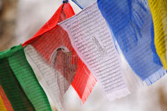 Himalayan Prayer Flags Royalty Free Stock Image