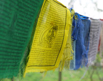 Himalayan Prayer flags Stock Photography