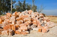 Himalayan Rock Salt. From Warcha salt Mines Stock Images