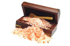 Himalayan Rock Salt Royalty Free Stock Image