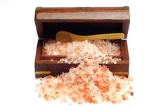 Himalayan Rock Salt Royalty Free Stock Photo