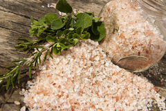 Himalayan salt Royalty Free Stock Images