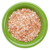 Himalayan salt bowl Stock Photo