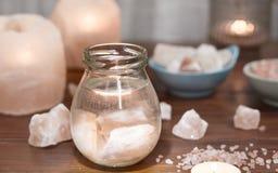 Himalayan Salt Brine Therapy Stock Images