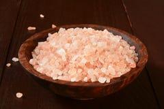 Himalayan Salt Crystals Royalty Free Stock Photos