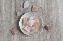 Himalayan Salt Decor Royalty Free Stock Photography