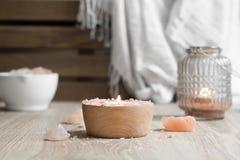 Himalayan Salt Spa Therapy Stock Photography