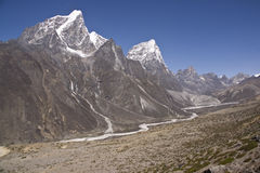 Himalayan Scenery Royalty Free Stock Photography