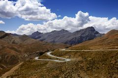 Himalayan scenic. Zanskar Stock Photo