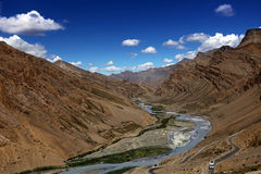 Himalayan scenic. Zanskar valley Stock Photo