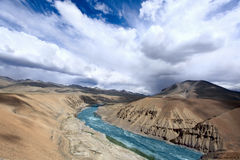 Himalayan scenic. Zanskar valley Stock Photos