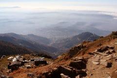 Himalayan SnowTrekking Routes Triund Kangra India Royalty Free Stock Photos