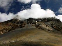The Himalayan Thorung-La Pass at 5400m Royalty Free Stock Photography
